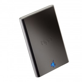 Bipra S3 2.5 inch USB 3.0 FAT32 Portable External Hard Drive - Black
